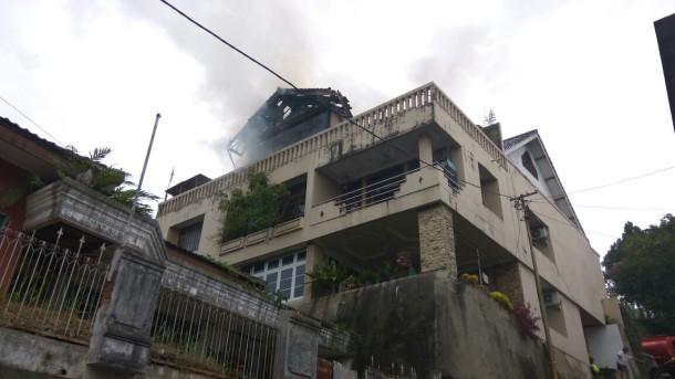 Kantor DPW Partai Idaman Lampung Terbakar