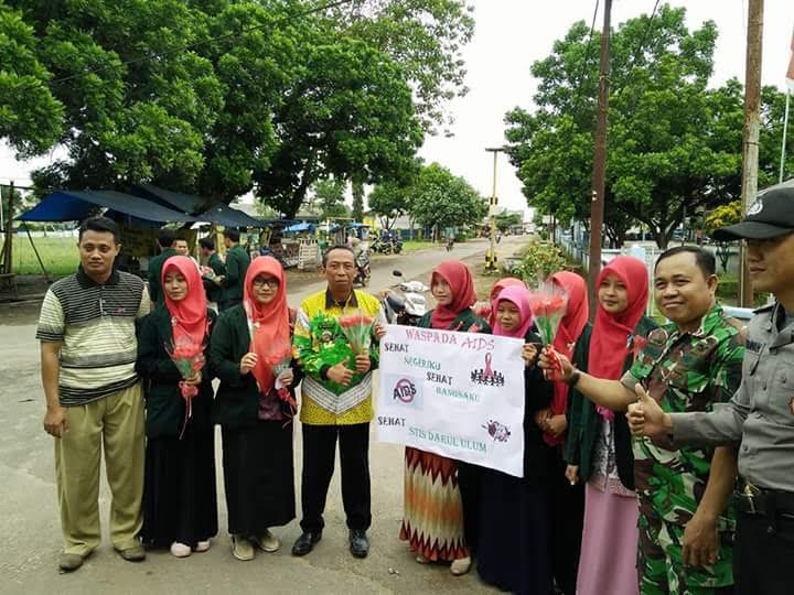 Mahasiswa dan Remaja Kecamatan Sekampung Lampung Timur Sosialisasikan Bahaya AIDS dan Seks Bebas