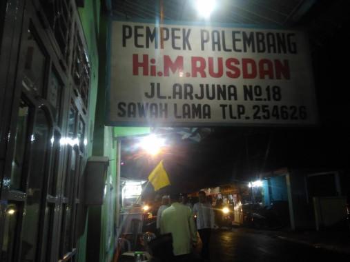 Almarhum Pemilik Pempek Rusdan di Bandar Lampung Dikenal Suka Menolong