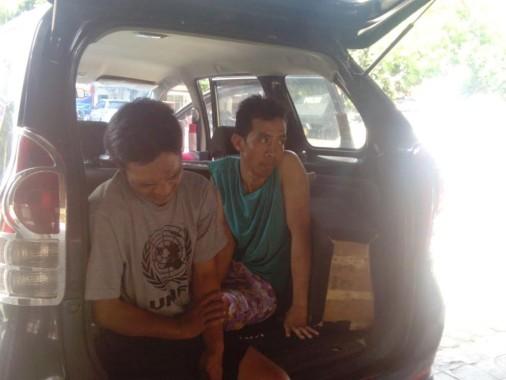 Kidel dan Topik Pencuri Spesialis Mobil di Bandar Lampung Meringis Kakinya Kena Pelor Petugas