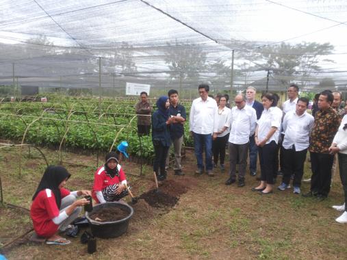 PT Nestle Indonesia Kunjungi Petani Kopi Mitra di Tanggamus