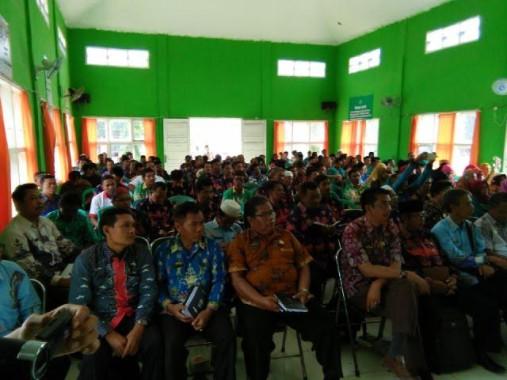 Dinas Pendidikan Kabupaten Mesuji Gelar Sosialisasi Saber Pungli