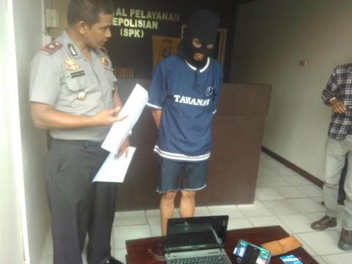 Polsekta Tanjungkarang Timur Bekuk Warga Palembang Pelaku Pencurian di Jalan P Antasari