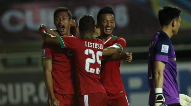 Timnas Indonesia Ungguli Vietnam 2-1 Leg Pertama Semifinal Piala AFF
