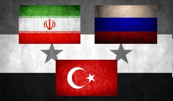 Rusia, Iran dan Turki Bentuk Aliansi Baru Akhiri Perang di Suriah