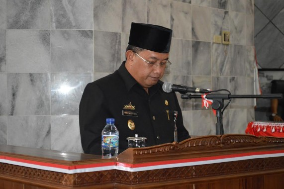 Adeham Pimpin Upacara Bela Negara di Tulangbawang Barat