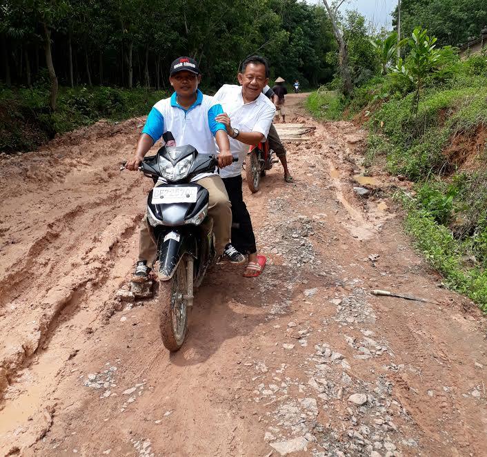 Kampanye di Kecamatan Batu Putih, Fauzi Hasan Minta Dukungan Warga Tubaba