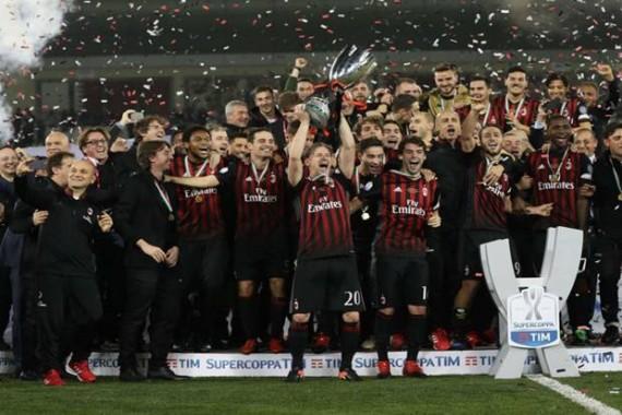 AC Milan Raih Piala Suparcoppa Italia Usai Kalahkan Juventus dalam Adu Penalti