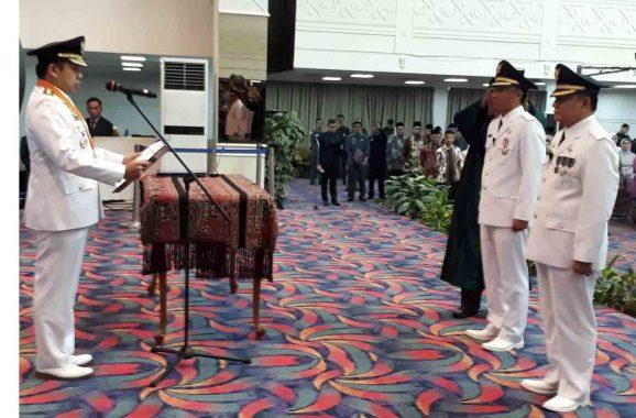 Parosil Mabsus-Mad Hasnurin Resmi Pimpin Lampung Barat