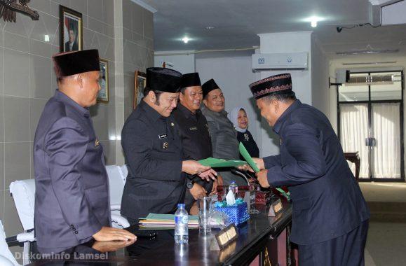 Ketua DPRD Kota Bandar Lampung Terima Pengurus APKLI Provinsi Lampung