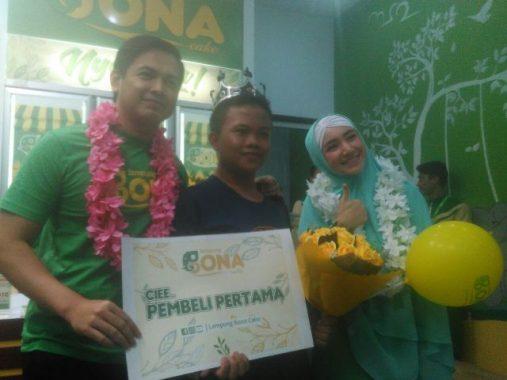 Bona Cake Lampung Diklaim Makanan Kekinian