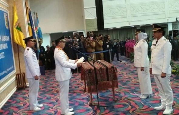 Gubernur Lampung M Ridho Ficardo Lantik Bupati dan Wakil Bupati Tulangbawang
