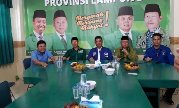 DPW PPP Lampung Tegaskan Harga Mati Dukung Ridho Ficardo pada Pilgub 2018