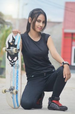 Model Lampung Feren: Ketua OSIS yang Suka Cuap-Cuap