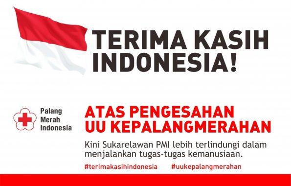 PMI Lampung Sambut Baik Pengesahan UU Kepalangmerahan