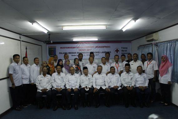 PMI Lampung Gelar Musyawarah Kerja, UU Kepalangmerahan Jadi Topik Pembicaraan