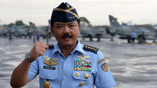 KSAU Mersekal Hadi Tjahjanto Calon Tunggal Panglima TNI
