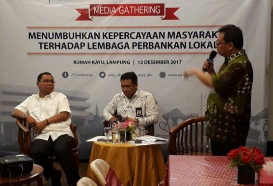 LPS Gelar Media Gathering dengan Awak Pers Lampung