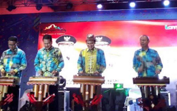 Gubernur Lampung M Ridho Ficardo Buka Lampung Fair 2017