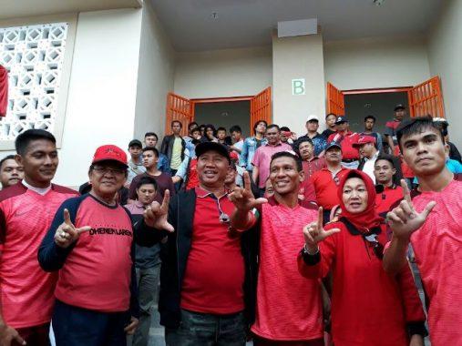 Bupati Lampung Barat Mukhlis Basri Resmikan Stadion Bumi Sekala Bekhak
