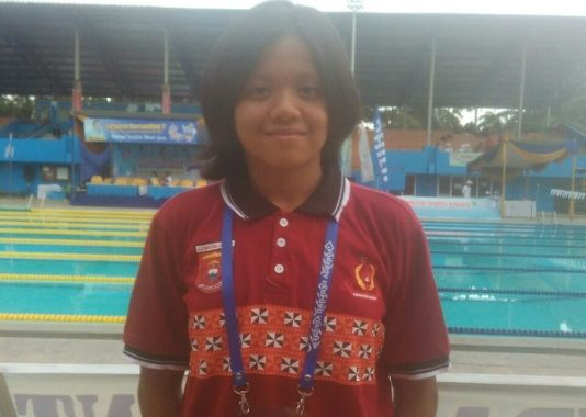 Nayla Anindya Putri Atlet Renang Berprestasi Berharap Bisa Wakili Lampung pada PON