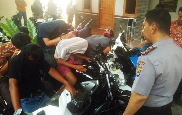 Empat Pelajar di Bandar Lampung Rampas Sepeda Motor dengan Modus Keroyokan