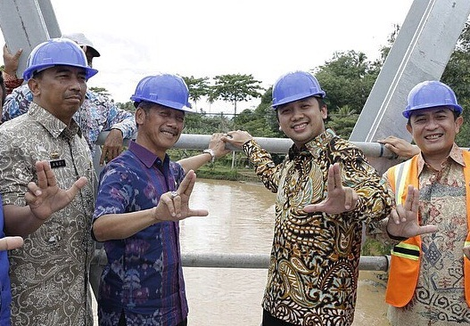Gubernur Ridho: Jembatan Sekampung 2 Pringsewu Segera Dioperasikan