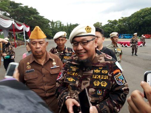 Seribuan Anggota FKPPI Lampung Dilepas Ikuti Apel Bela Negara di Jakarta
