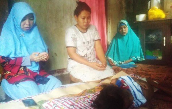 ACT Lampung Berikan Bantuan kepada Kelvin Julio Bocah Penderita Tumor asal Pesawaran