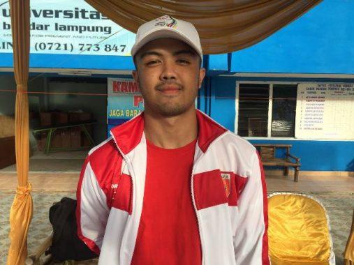 Cucu Ulama Lampung KH Abdurrahman Hilabie Raih Emas Renang 200 M Gaya Punggung Putra