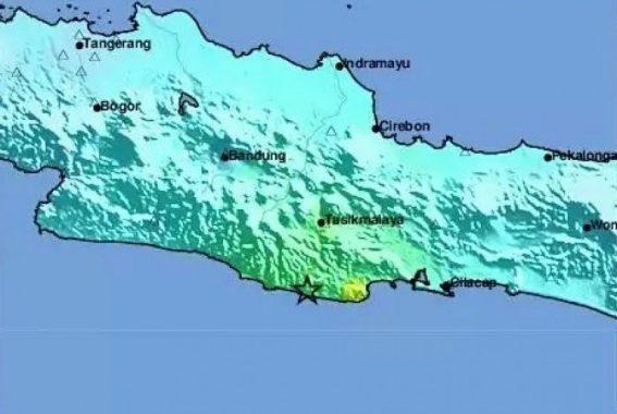 Gempa Tektonik Guncang Sebagian Jawa pada Akhir Tahun 2017