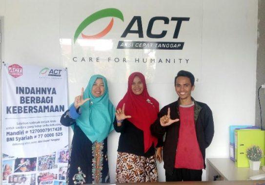 ACT dan Komunitas Mutiara Independen Lampung Sinergikan Program Sosial