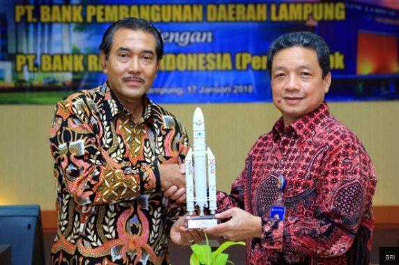 Tingkatkan Kapasitas BPD, BRI Kerjasama dengan Bank Lampung