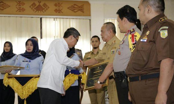 Pendaftaran Cagub, Sebanyak 250 Personel Kepolisian Amankan Kantor KPU Lampung