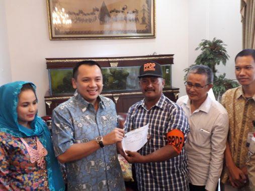 PILGUB LAMPUNG: KPU Coklit Gubernur Ridho Ficardo