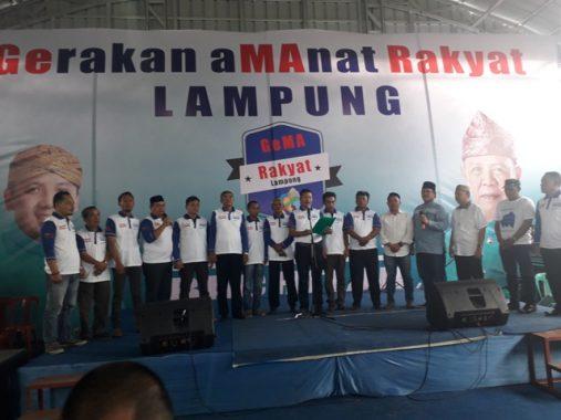 PILGUB LAMPUNG: Gema Rakyat Nyatakan Dukung Ridho-Bachtiar