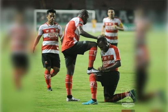 Piala Presiden 2018, Madura United Bantai Perseru Serui 5-0