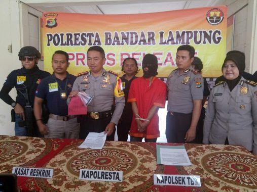 Polisi Tembak Kaki Pelaku Curanmor di Jalan Gatot Subroto Bandar Lampung