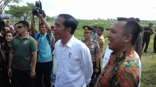 Presiden Jokowi Janji Bantu Bangun Gedung Baru di Kampus Itera