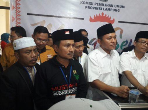 PILGUB LAMPUNG: Mufti Salim Ketua Tim Pemenangan Mustafa-Jajuli