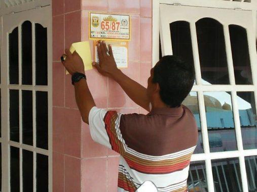 PILGUB LAMPUNG: Pemutakhiran Data Pemilih oleh Ketua RT Ajang Silaturahmi dengan Warga