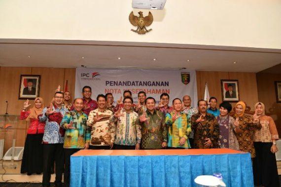 Perkuat Infrastruktur Konektivitas, Gubernur Lampung MoU dengan Pelindo II