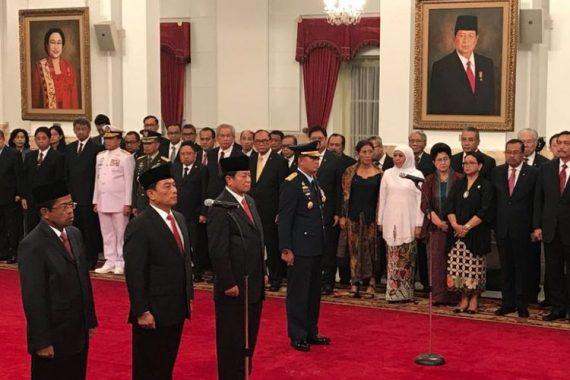 Reshuffle Kabinet: Idrus Marham Jadi Mensos, Moeldoko Kepala Staf Presiden