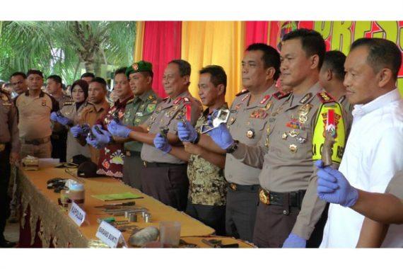 Home Industri Pembuat Senjata Api di Jabung Lampung Timur Digrebek Polda Lampung