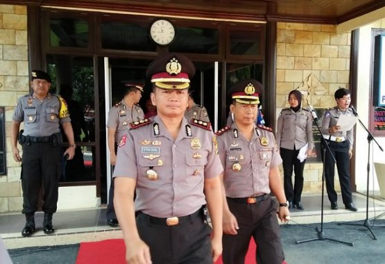 AKBP Slamet Wahyudi Jabat Kapolres Lampung Tengah, Lanjutkan Prograng Command Center