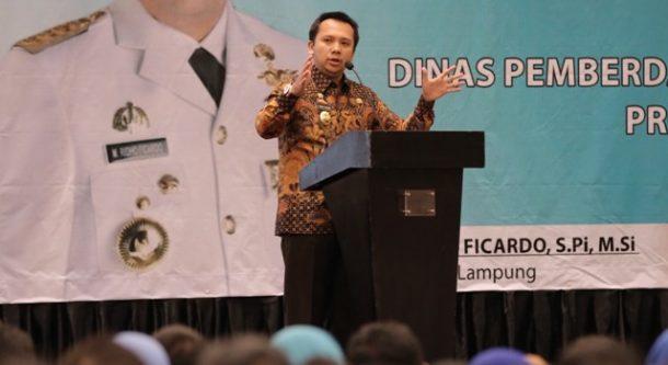Februari Ini Gubernur Lampung Peletakan Batu Pertama Perpustakaan Modern