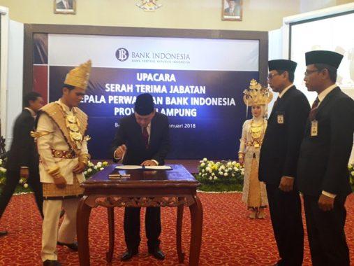 Budiharto Setyawan Nakhoda Baru Bank Indonesia Lampung