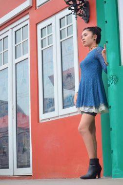 Model Lampung Uci Ramona: Sekali.... Langsung Jadi