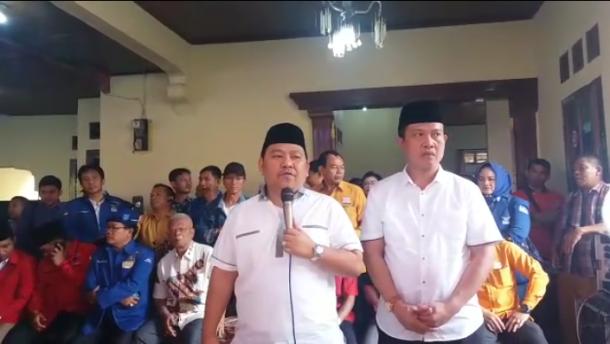 PILKADA LAMPUNG UTARA: Lima Ribuan Warga Kawal Zainal Abidin-Yusrizal Daftar ke KPU