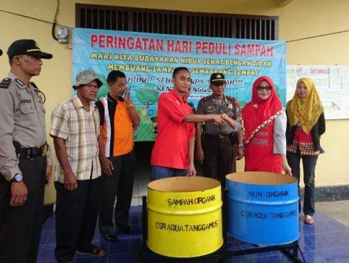HUT Ke-45 Aqua, PT Tirta Investama Pabrik Tanggamus Baksos di Kotaagung
